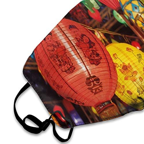 Kids Anti Dust Mouth Mask International Chinese New Year Celebration China Hong Kong Korea Indigenous Culture Face Mask with Adjustable Earloops Shopping