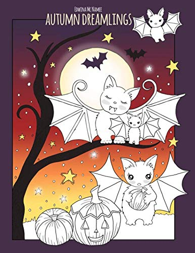 Autumn Dreamlings: a beautiful fall coloring book -