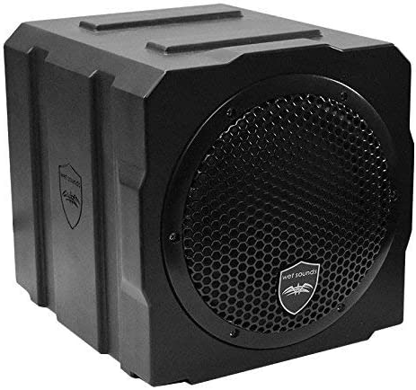 Wet Sounds Stealth AS-8 350 watt Active Subwoofer Enclosure Renewed
