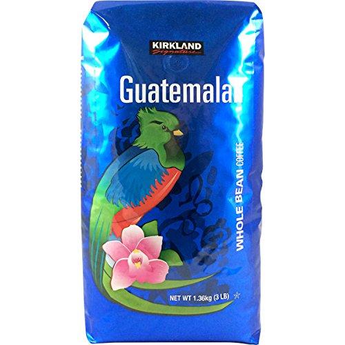 Kirkland Signature Guatemalan Whole Bean Medium Roast Coffee, 3 lbs.