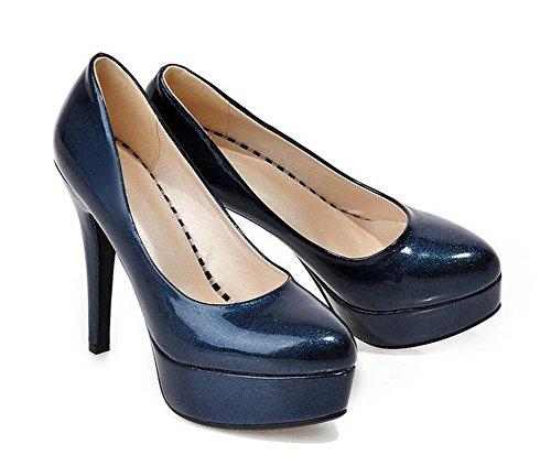 sottile 43 era scarpe BLUE con ufficio significativamente scarpe tacchi 40 corte casual alti XIE OFvxwqUg