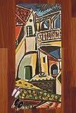 Mediterranean Landscape by Pablo Picasso Runner Rug - 3.66'x8'