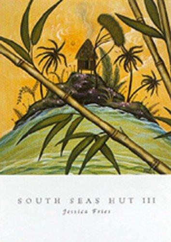 South Seas Hut Iii by Jessica Fries 7 X 5 Poster (Hut Seas South)
