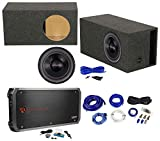 American Bass HD12D2 HD 12' 4000w Subwoofer+Amplifier+Vented Sub Box Enclosure