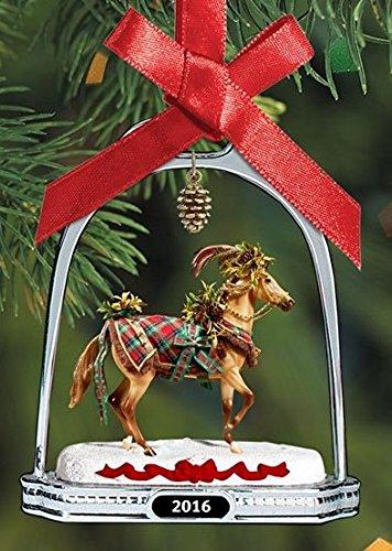 Limited Edition Holiday Ornament - BREYER - WOODLAND SPLENDOR STIRRUP