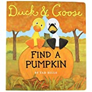 Duck & Goose, Find a Pumpkin (Oversized Board Book)