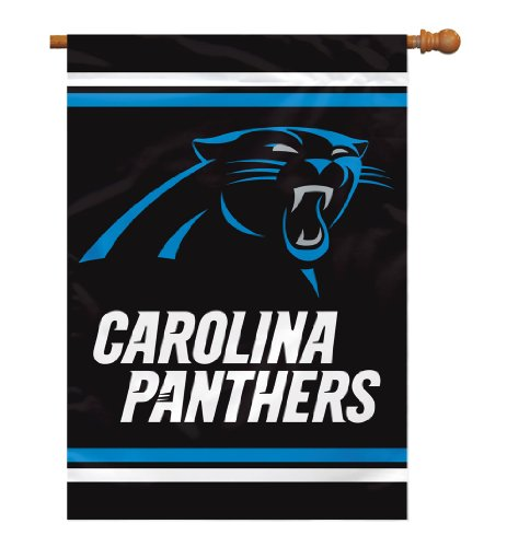 Carolina Panthers Flag - NFL Carolina Panthers 2 Sided House Banner, 28 x 40-Inch