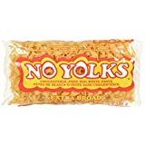 No Yolks Kosher Extra Broad Pasta, 12 oz