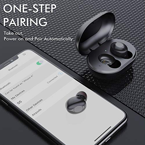 Wireless Earbuds Comeproof Bluetooth Earbuds Deep Bass HiFi Stereo Sound 24H Playtime Bluetooth