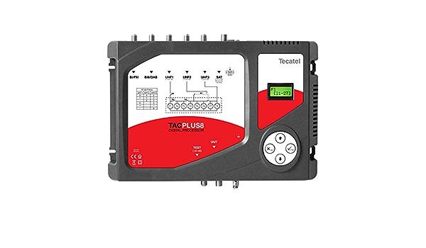 Central amplificadora programable 8 filtros y FI: Amazon.es ...