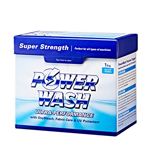 5 x Cosway PowerWash Detergent Ultra Super Strength ( 1kg Per Box ) by Cosway