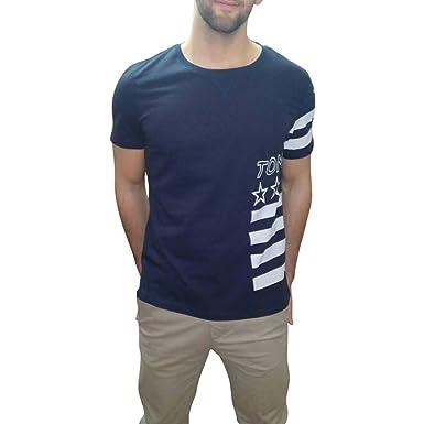 801ba919 Tommy Hilfiger Denim Stars and Stripes T-Shirt (XL, Navy): Amazon.co.uk:  Clothing