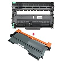 2PK High Yield ShopCartridges ® (TN450+DR420)) TN-450 DR-420 Compatible with Brother TN450 DR420 (Toner + 1 drum) DCP-7060D DCP-7065DN MFC-7360N MFC-7460DN MFC-7860DW HL-2220 HL-2230 HL-2240 HL-2240D HL2270DW HL-2280DW