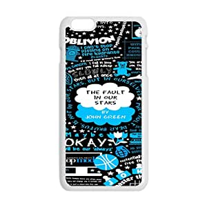 KKDTT The Fault in Our Stars Okay? Okay Printed Cell Phone Case for Iphone 6 Plus