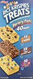 Rice Krispies Treats 3-Flavor Variety Pack, 40-Count Treats image