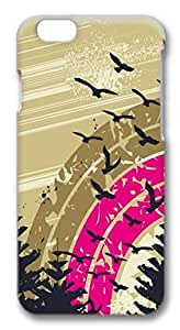 Abstract geese Polycarbonate Hard Case Cover for iPhone 6
