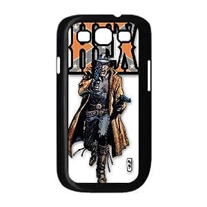 Samsung Galaxy S3 9300 Cell Phone Case Black_Superhero Captain America, Spider Man, Iron Man, Wolverine, ant man, Green Arrow, Batman, Joker Logo (64) Durqt