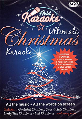 Christmas Karaoke Dvd - Ultimate Christmas Karaoke [Interactive DVD]