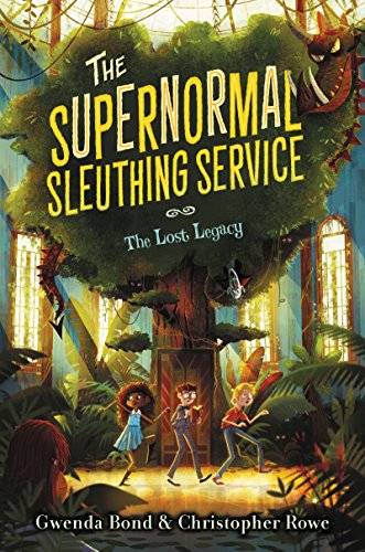 The Supernormal Sleuthing Service #1: The Lost Legacy]()
