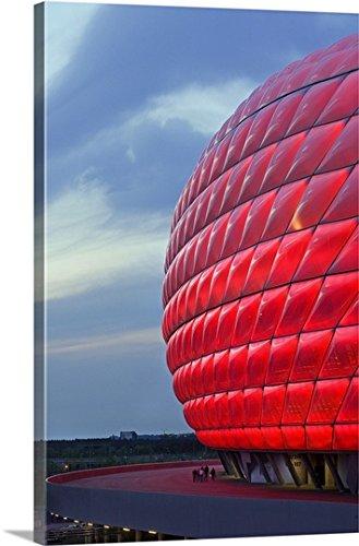 franco-cogoli-premium-thick-wrap-canvas-wall-art-print-entitled-germany-munich-allianz-arena-soccer-