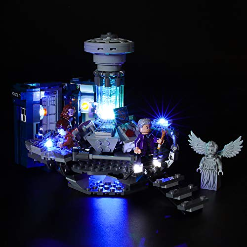 Conjunto de luces LIGHTAILING para el modelo de bloques de construcción (Ideas Doctor Who) - Kit de luces LED compatible con Lego 21304 (no incluido el modelo)