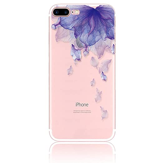 12 opinioni per Custodia iphone 7 plus Silicone, Sunroyal® [TPU Shock-Absorption] [Antigraffio]
