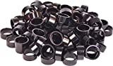 Wheels Manufacturing Bulk Headset Spacers 1-1/8 x 15mm Black Bag of 100