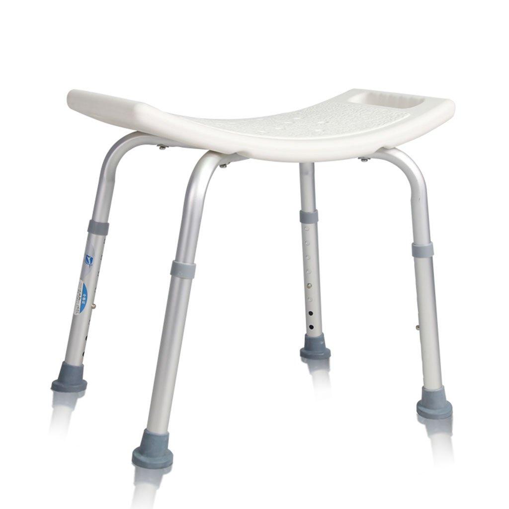 限定価格セール! バスの椅子古い人ノンスリップシャワー椅子アルミニウム合金入浴妊婦浴室椅子高齢者 B07DMWZPQQ B07DMWZPQQ, ブランドアップ西麻布店:7755463f --- sbrc.masdar.ac.ae