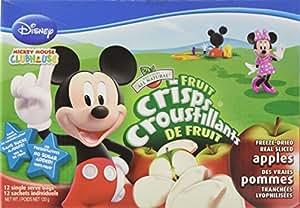 Brothers All Natural Disney Fruit Crisps, Fuji Apple, 12-Count