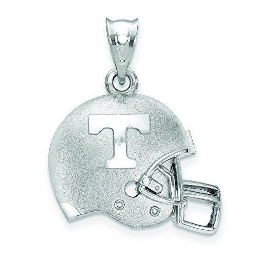 - LogoArt University Of Tennessee Men's Athletic T 3D Football Helmet Logo Pendant Necklace