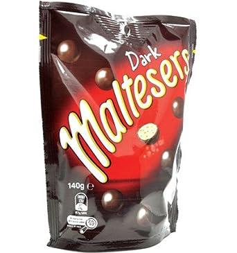 aee86d4ac9a Maltesers Dark Bag 140g x 24: Amazon.co.uk: Grocery