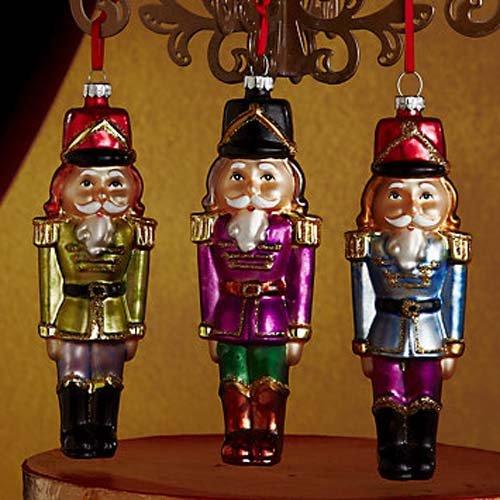 Lenox Antique Glass Nutcracker Set of 3 -