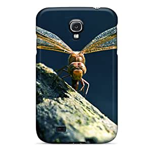 Anti-scratch And Shatterproof Dragonfly Phone Case For Galaxy S4/ High Quality Tpu Case