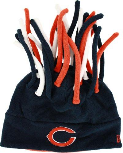 NFL New Era Chicago Bears Crazy Dreads Fleece Hat - Navy ...