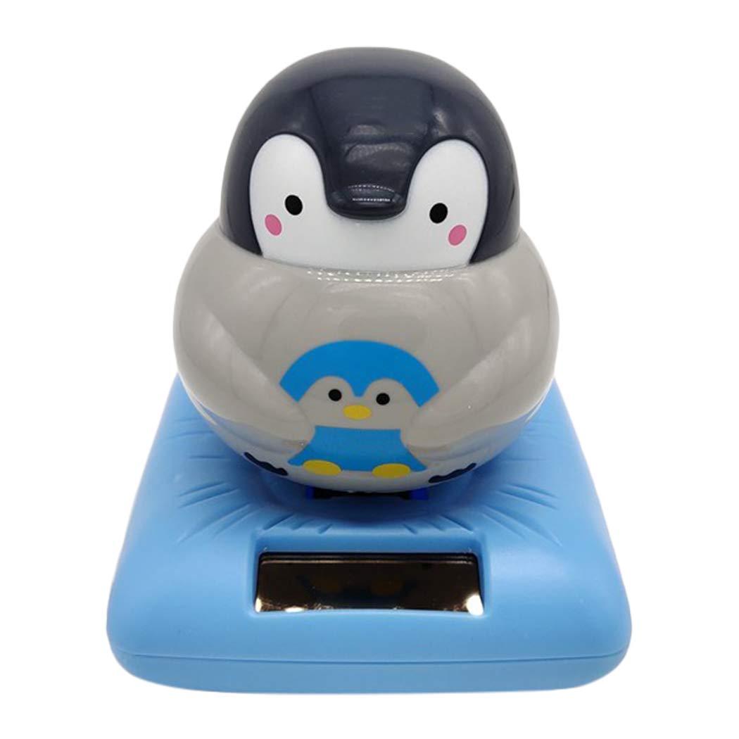B bangcool カーオーナメント かわいいペンギンの形 おもしろバブルヘッド 装飾用おもちゃ マルチカラー  タイプ 2 B07MDRDDHX