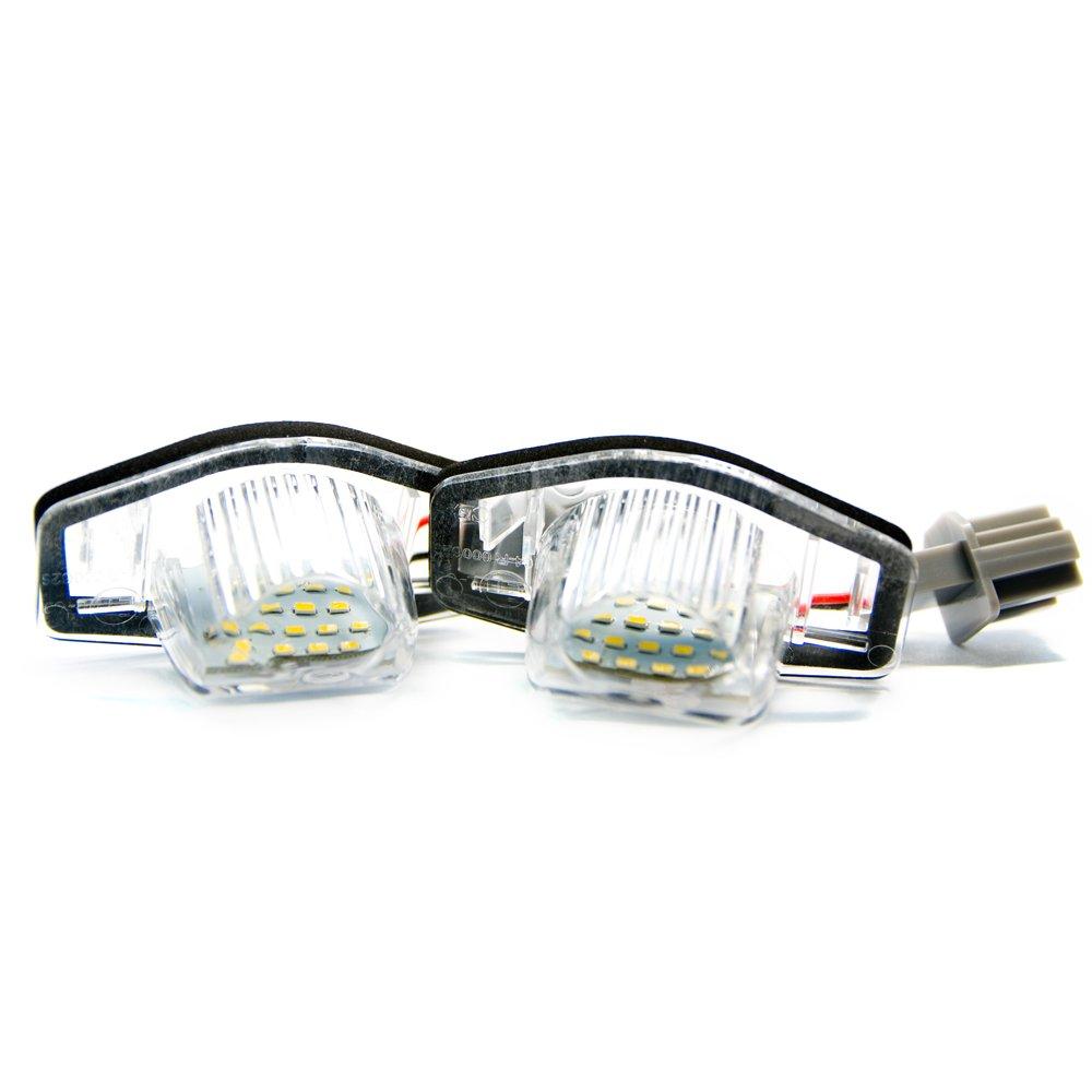 2 x LED Kennzeichenbeleuchtung Xenon Kennzeichen Leuchte 6000K Licht Vinstar