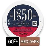 1850 Trailblazer, Medium-Dark Roast Coffee, K-Cup Pods for Keurig Brewers, 10 Count (Pack of 6)