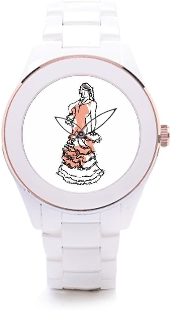 Elegante Relojes España Que Carmen moda relojes: Amazon.es: Relojes