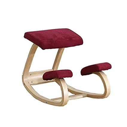 Silla de postura de rodillas Silla ergonómica ortopédica para ...