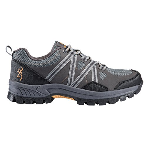 Scarpa Da Trail Running Color Glenwood Da Uomo Marrone Brunito, 3 Colori, 9 Taglie Tra Cui Scegliere Per Pavimentazione / Grigio Gelo