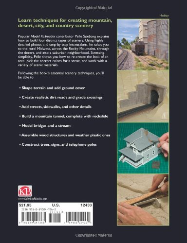 Essential Model Railroad Scenery Techniques (Model Railroaders How-To Guide)