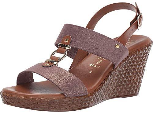 ITALIAN Shoemakers Women's Pusha Chocolate 6.5 M US