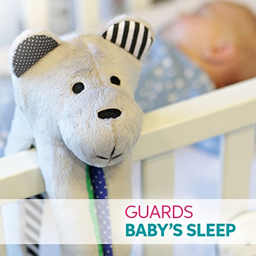 Whisbear Baby Sound Machine - The Best Sleep Soother on the Market - No More Sleepless Nights and Sleep Deprivation with this Award Winning White Noise Teddybear (Citron) by Whisbear (Image #3)