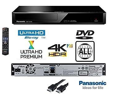 Panasonic 4k Ultra Hd Blu Ray Player With Multiregion Dvd Playback Model Dp Ub320 Dmpub320 Same Family As Dmp Ub300 Dmp Ub700 Dmp Ub900 Dmp Ub400 Includes Flat Hdmi Lead Black Business Industry Science