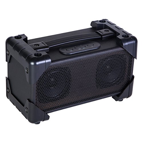 Vivitar V143BT-BLU-KM Bluetooth Retro Boom Box Speaker, Colors May Vary by Vivitar
