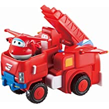 Super Wings - Jett's Robo Rig | Transforming Toy Vehicle Set | Includes Transform-a-Bot Jett Figure | 2