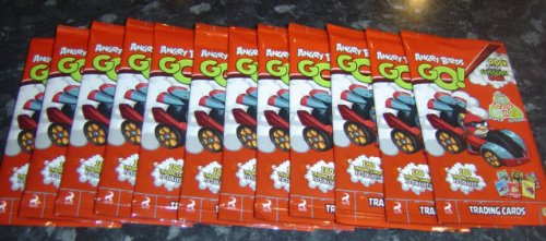 Angry Birds GO Trading Card Game – 1 Sealed Packet (6 Cards Per Pack)