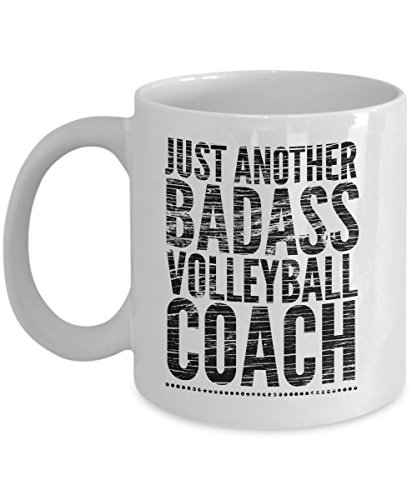 Just Another Badass Volleyball Coach Mug - Cool Coffee Cup