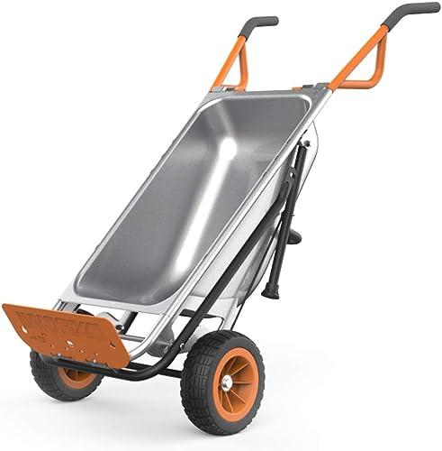 WORX WG050 Aerocart 8-in-1 All-Purpose Wheelbarrow/Yard Cart/Dolly