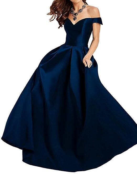 8e726da72 PROMLINK - Vestido largo plisado de noche para mujer